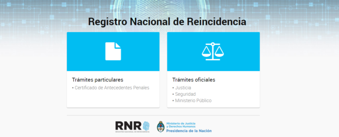 Antecenentes Penales Argentina