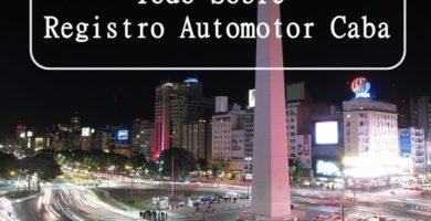 Registro Automotor Caba