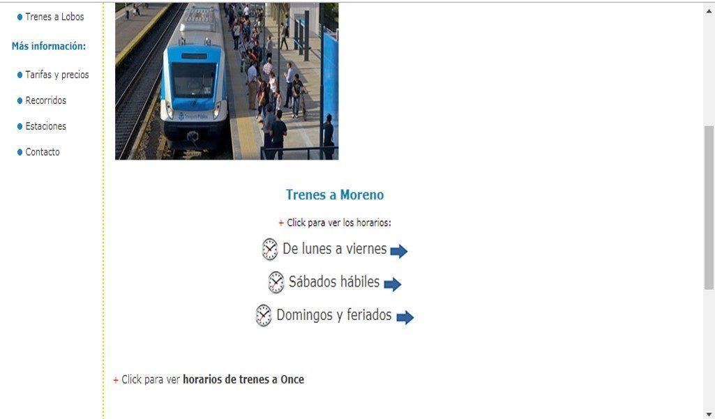 ¿Cómo Buscar Los Horarios Del Tren Sarmiento Online?