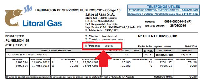 Cómo Imprimir Mi Factura De Litoral Gas