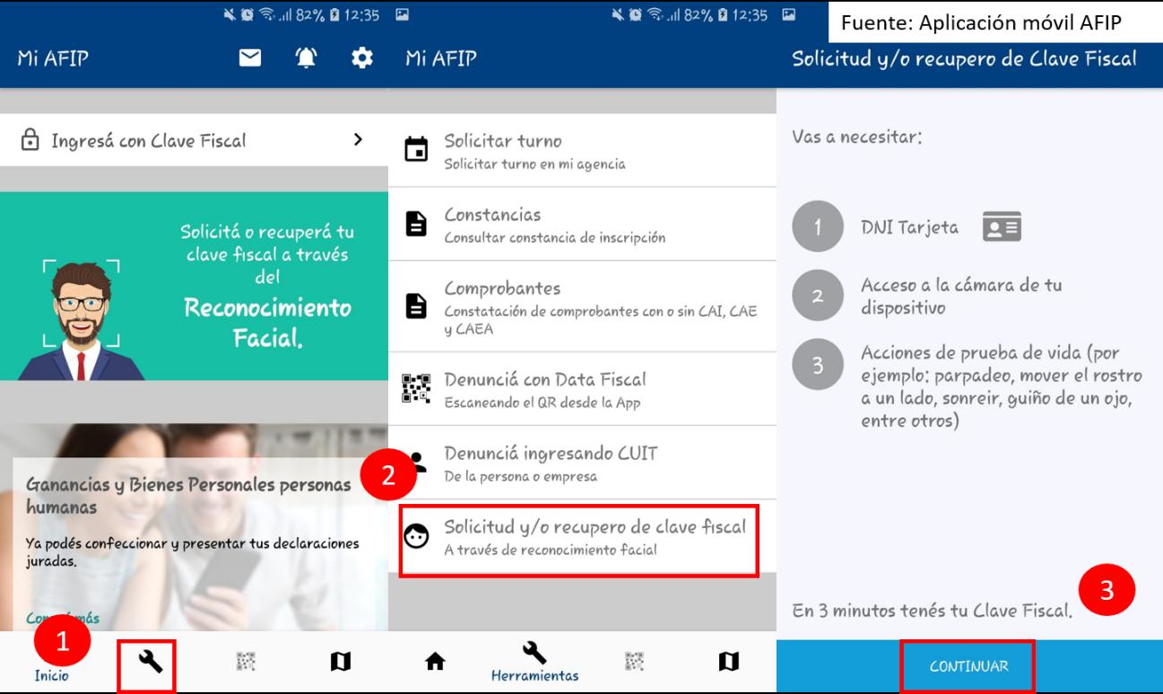 App de AFIP Para Consultar mi Clave Fiscal