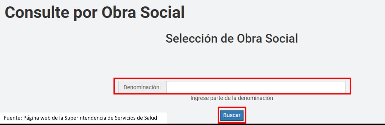 Consultar Obra Social Por Código