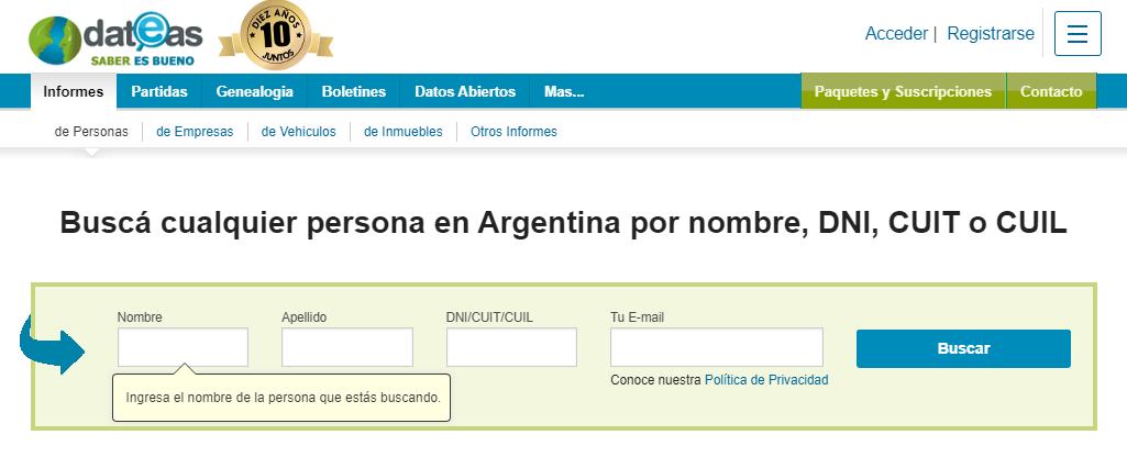 Buscar Personas Fallecidas Por Nombre Y Apellido En Argentina Gratis