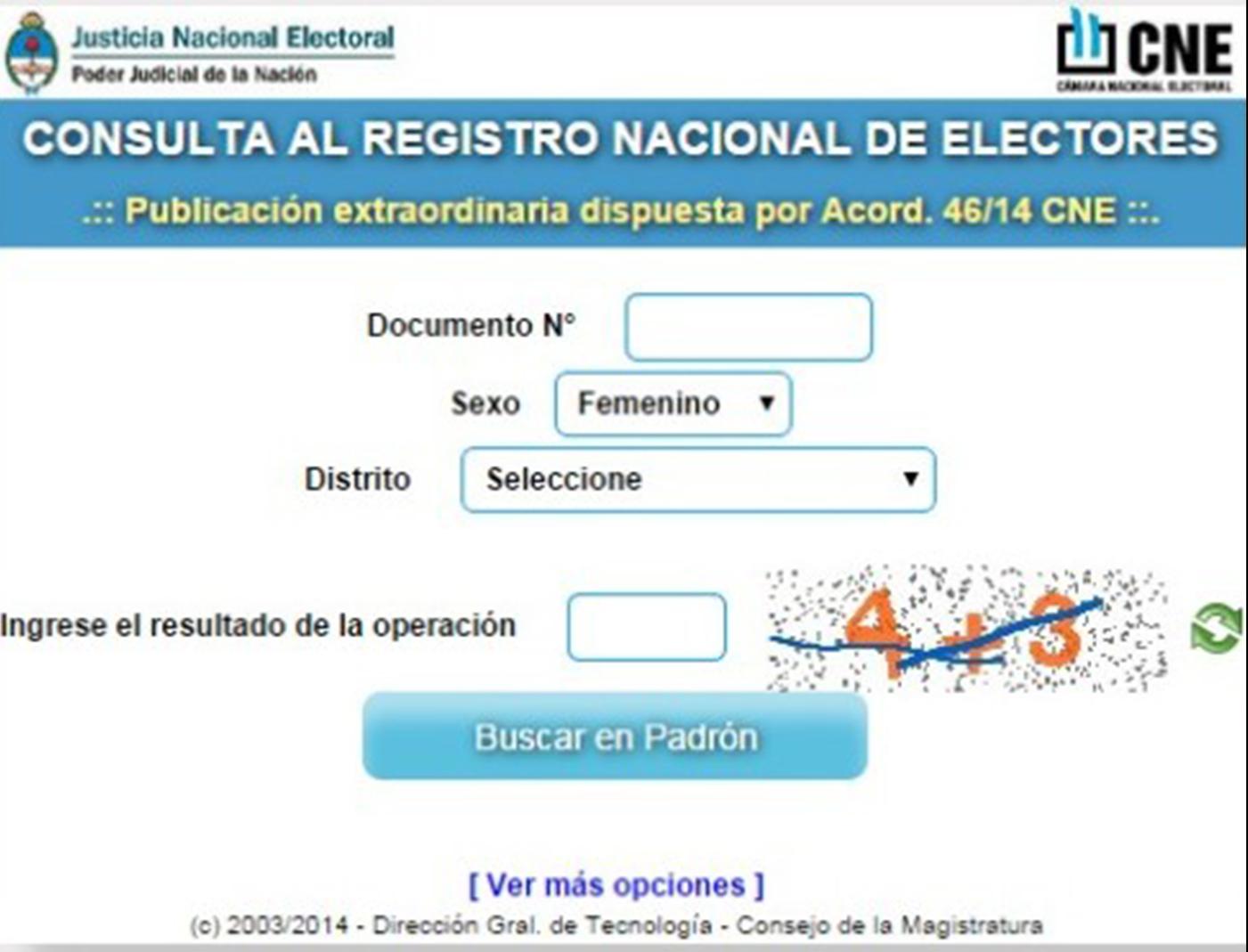 Padrones Electorales Buscar Por Nombre